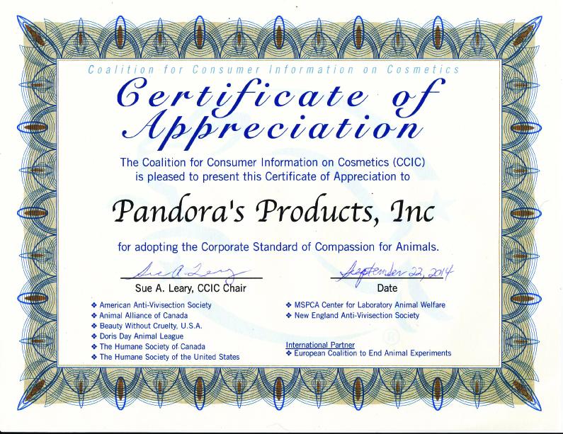 CCIC Certificate copy