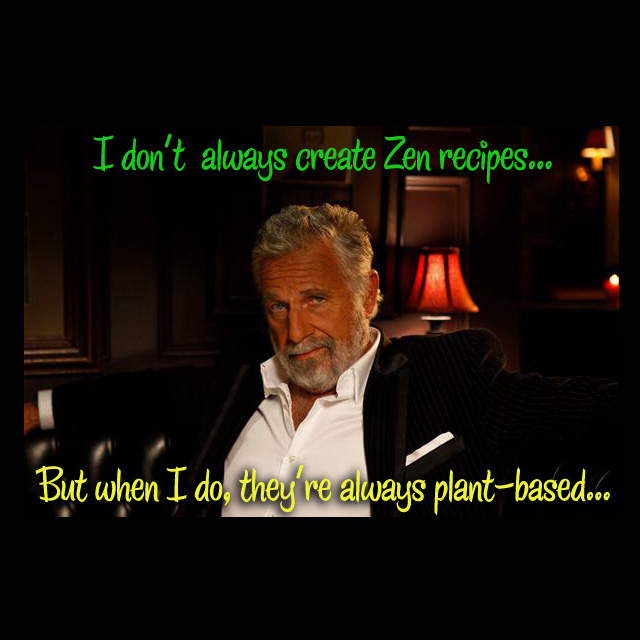 """Zen cooking = """"You create the recipe by lving it."""" - Edward Espe Brown"""