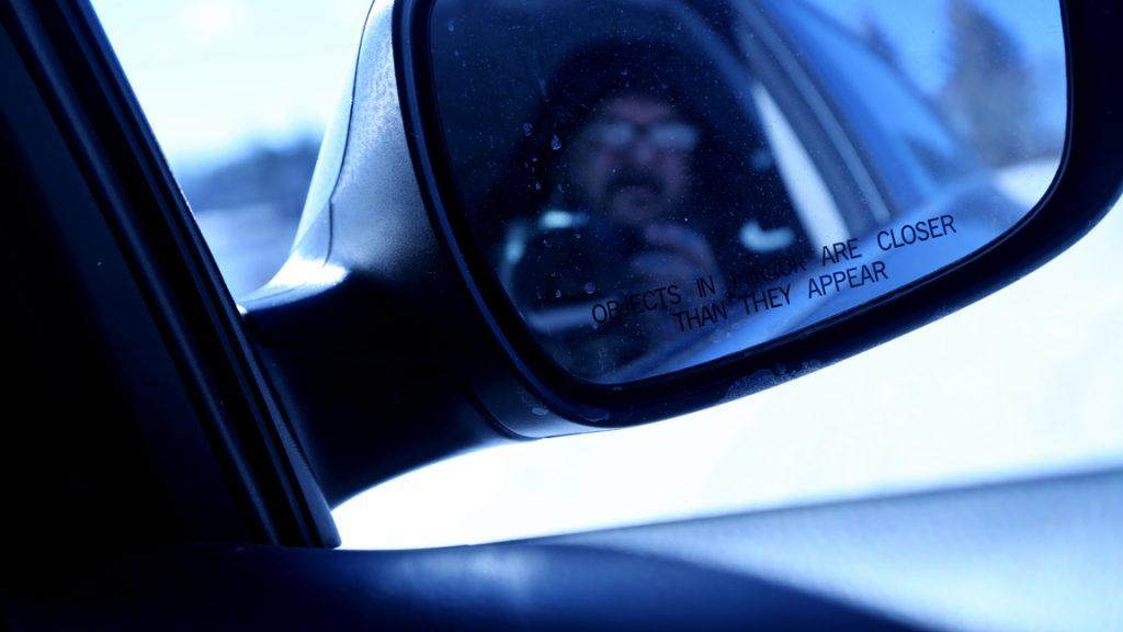 mirror of camera