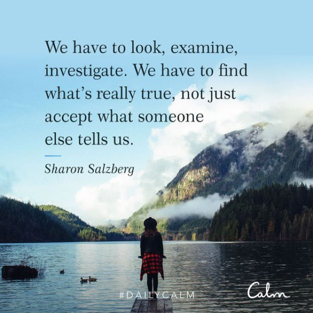 mindfulness calm quote